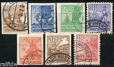 SBZ Abschiedsserie 1946 Kreidepapier geprüft (S5866)