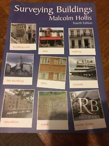 Surveying Buildings by Malcolm Hollis, Malcolm Hardback Fourth Edition