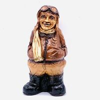 Orzeck 1981 All American Aviator Figure Hand Painted 7""
