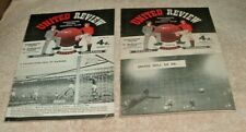 More details for manchester united v west bromwich albion league & cup  replay 1957/1958 munich