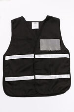 Economy, Safety Vest, Black, Universal