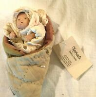 "Norton's Santa & Friends Hand-sculpted Clay 5"" Baby Cherub Collectible #11 of 93"