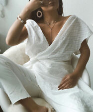 Zara Asymmeteic Dress Top Tunic With Knot. Size Large