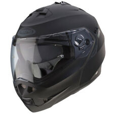 Caberg Duke Matt Black Flip Front Face Motorcycle Sports Helmet L 0488366