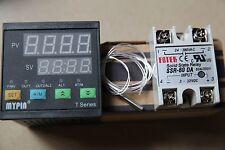 MYPIN  Digital F/C PID Thermostat Temperature Controller TA4-SSR +PT100 +60A SSR