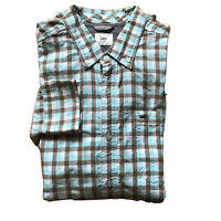 Lee Long Sleeve Cottons Casual Shirts Size XXL Buttons Down Classic Fit