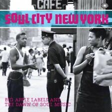 ** VARIOUS ARTISTS  SOUL CITY NEW YORK 2CD  EARLY MOD SCOOTERIST SOUL!!