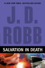 SALVATION IN DEATH by J D ROBB HCDJ DEATH SERIES FANTASTIC READ