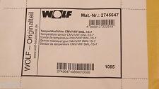 Wolf Ersatzteil Temperaturfühler CMV/VRF 2745647 OVP NEU