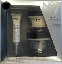 No7 Early Defence Skincare System Gift Set FREE UK DELIVERY