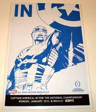 ALL-NEW CAPTAIN AMERICA # 3 Marvel Comic NM 1:10 ESPN VARIANT COVER EDITION