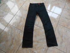 H3556 Levis RED TAB Jeans W25   Gut Schwarz