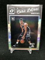 CARIS LEVERT 2016-17 Panini Optic Silver Holo Prizms Refractor RC 167 Rookie E45