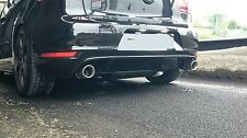 VW Golf 6 Serie Diffusor GTI Look Heckansatz Heckdiffusor Heckschürze VI GTD R