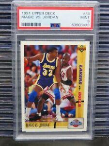1991-92 Upper Deck Magic VS. Jordan Classic Confrontation #34 PSA 9 (39) D260