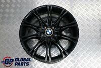 """BMW 3 Z4 Series E46 E85 Black Front Alloy Wheel Rim 18"""" 8J M Double Spoke 135"""