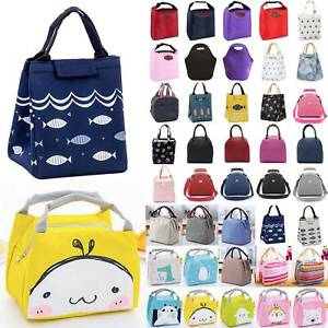 Lunch Bags Kid Women Insulated Cooler Box Office Picnic Foods Carry Tote School