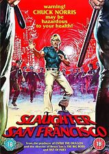 Slaughter In San Francisco - DVD NEW & SEALED - Chuck Norris