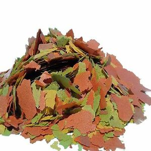 Tropical Fish Flakes, FREE 12-Type Blackworm/Color Pellet Blend Included. AF