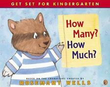 How Many, How Much? (Get Set for Kindergarten!)-ExLibrary