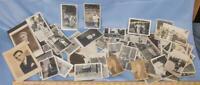 Vintage & Antico Lotto di Seppia Nero & Bianco Fotografie Dq