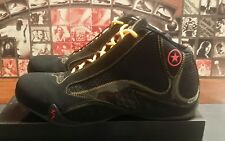 Converse Wade 2.0 MID Black Shoes with Yellow and Red Trim Size 13