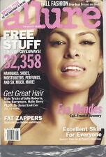 Eva Mendes Allure Magazine Aug 2010 Real Life Lipo Celeb Hair Style Tricks