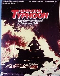 SPI OPERATION TYPHOON AVALON HILL GDW RELATED
