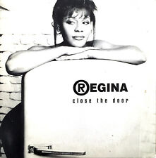 Regina CD Single Close The Door - France (VG+/EX+)