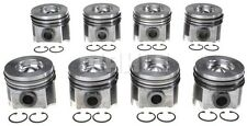 Mahle Ford 6.0L Powerstroke Piston and Ring Kit Set 8 STD Pistons Rings 2003-10