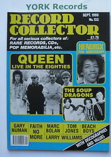 RECORD COLLECTOR MAGAZINE - Issue 133 September 1990 - Queen / Jimi Hendrix