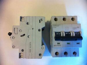 Dorman Smith 3 phase 6amp mcb - X3PB06 - Type B Three Pole MCB