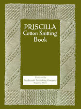 Priscilla Cotton Knitting c.1918 Vintage Patterns and Lovely Knitted Laces