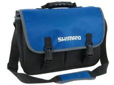 Borse e cassette blu Shimano per pescatori