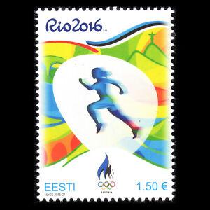 Estonia 2016 - Olympic Games - Rio de Janeiro, Brazil - Sc 819 MNH