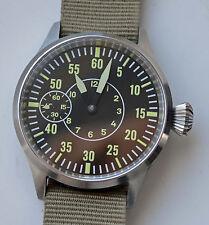 Pilot Swiss UNITAS / ETA 6497 Manual Steel Watch