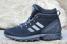 15 New Adidas ZX Flux Boots Winter Blackout Men's Size 8.5 AQ8433