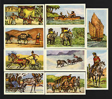 CIGARETTE/TRADE/CARDS. Coopers  Tea.TRANSPORT 1st.Series. (1961). (Full Set 25).