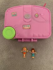 Vintage Polly Pocket Holiday Fun Suitcase - Complete With Figures