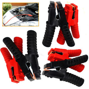 6pcs Replace Car H/duty Alligator Battery Clamps 1500A Booster Jumper Cable Clip