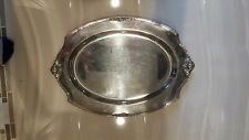 1847 Rogers Bros 'Eternally Yours' Pattern Silver Plate Butlers Serving Tray