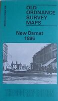 Old Ordnance Survey Detailed Maps New Barnet Middlesex 1896 Godfrey Edition New