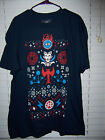 Doctor Strange Christmas Holiday Ugly Sweater T-Shirt Adult Size 2XL Loot Crate
