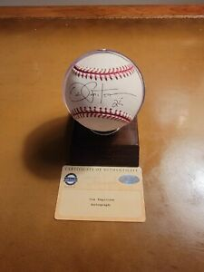 Joe Pepitone New York Yankees Autographed Baseball- Steiner Cert
