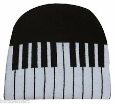 Piano Keys Music Beanie Ski Hat Soft and Warm keyboard