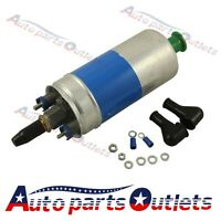 New Electric Fuel Pump 0580254910 With Install Kits For Mercedes W123 W124 W126