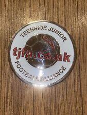 More details for teeside junior football alliance enamel badge / medal