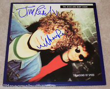 THE JESUS AND MARY CHAIN (WILLIAM & JIM REID) SIGNED VINYL RECORD LP PHOTO w/COA