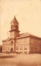 D53/ Baker Oregon Or Postcard 1913 City Hall Building