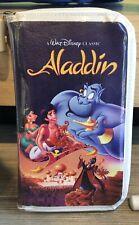 Disney Parks Aladdin Jasmine Vhs Clamshell Zipper Wallet Clutch Purse Bag